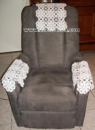 tetiere fauteuil tetiere crochet tetiere pour fauteuil prot ge t te fauteuil. Black Bedroom Furniture Sets. Home Design Ideas