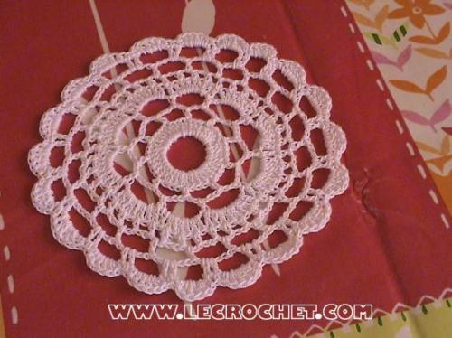 napperon crochet
