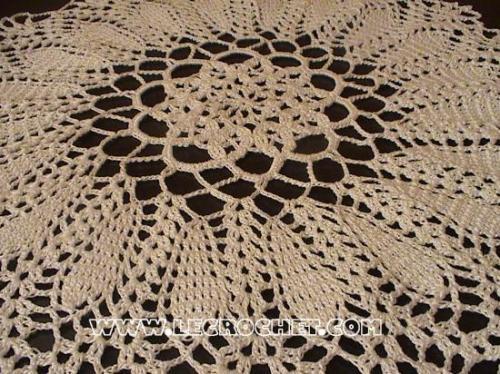 napperon au crochet