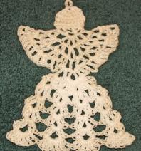Ange crochet 1