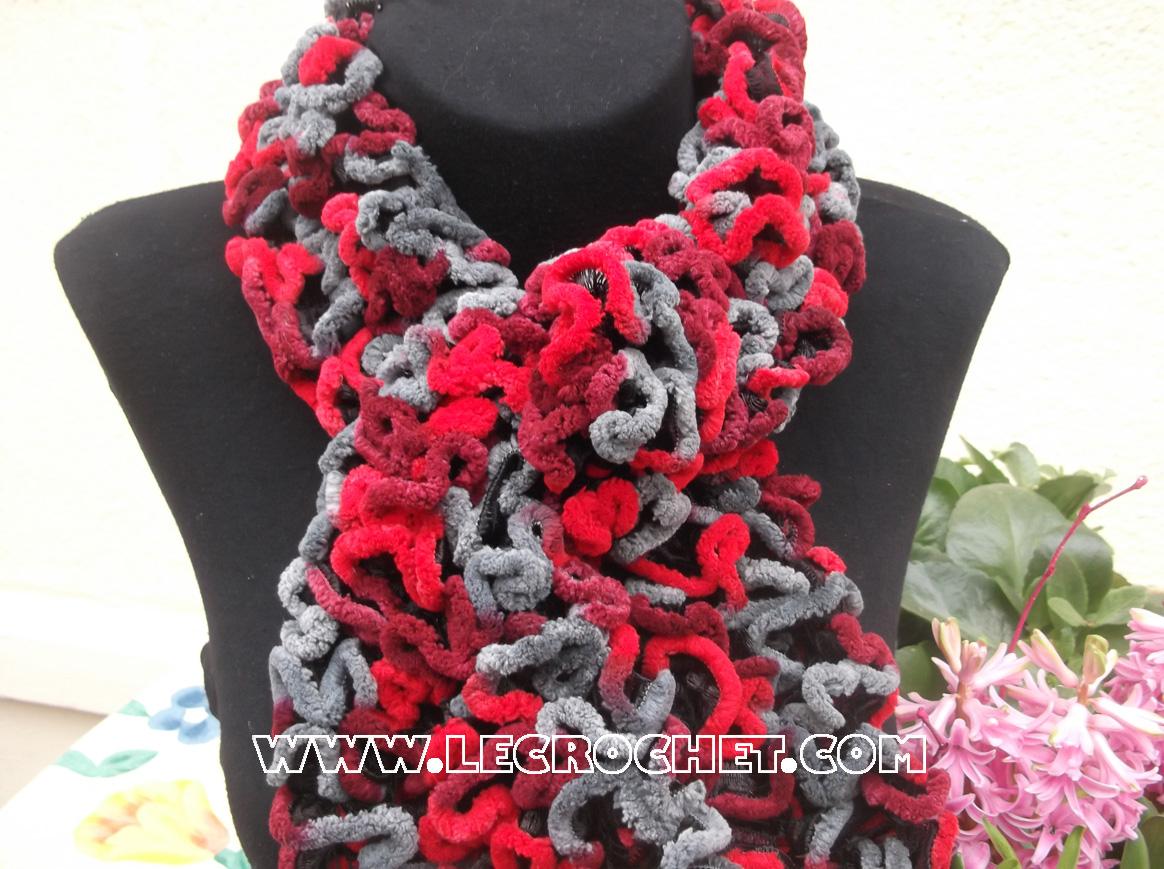 prix modéré nouvelles images de coût modéré Laine pour echarpe fantaisie echarpe a tricoter | Arts4a