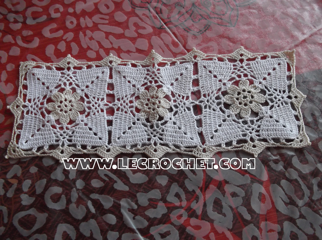 Préférence napperon rectangulaire, napperon rectangulaire au crochet  UG86