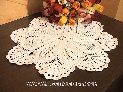 Napperon crochet - Napperon crochet grille gratuite ...