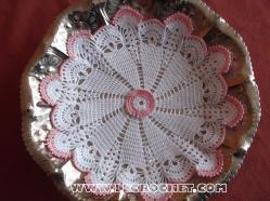 napperon crochet rond