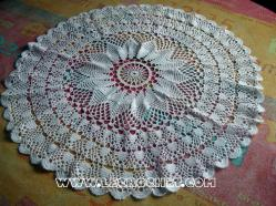 grand napperon crochet