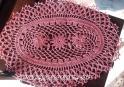 napperon crochet ovale