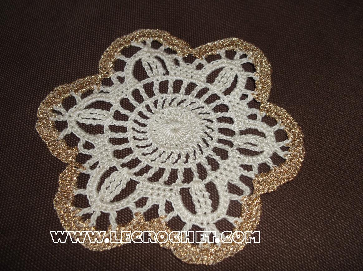Crochet pour d butant for Modele set de table