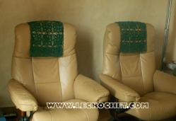 tetiere au crochet pour canapé