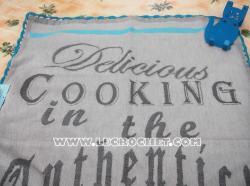 Torchon de cuisine gris